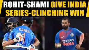India vs New Zealand, 3rd T20I: Rohit, Shami guide India to a famous win in Super Over thriller [Video]