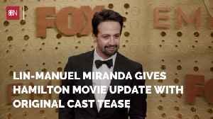 Lin-Manuel Miranda Is Breaking Into Movies [Video]