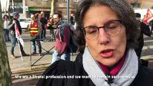 FURTHER FOOTAGE: Protests in Toulouse as pension reform strikes continue [Video]