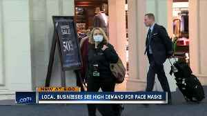 Businesses see high demand for face masks in light of coronavirus news [Video]