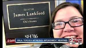 Oklahoma teacher witnesses impeachment hearings [Video]