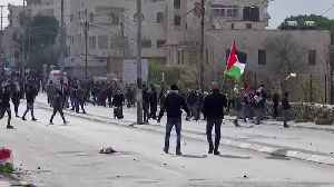 Palestinians clash with Israeli forces over Trump peace plan [Video]