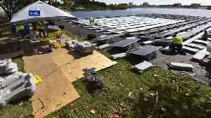 News video: WATCH: Time Lapse Of FPL Installing Nation's First Floating Solar