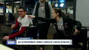 An extraordinary bond formed by Unified bowling at Starpoint High School [Video]