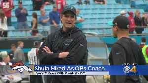 Broncos' New Quarterbacks Coach Named As Mike Shula [Video]