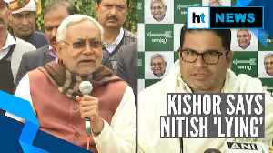'Amit Shah recommended him': Nitish Kumar on Prashant Kishor jibes at BJP [Video]