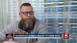 Clarksville veteran headed to Super Bowl with Titans QB [Video]