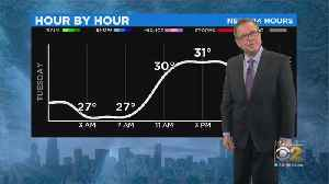 Flurries On The Way For Wednesday Morning [Video]