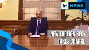 'Committed to MEA's role in nation-building': Foreign Secy Harsh Vardhan Shringla [Video]