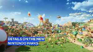 Details on the new Nintendo Parks continue to be revealed [Video]