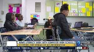 Kenwood High School journalism students take part in News Literacy Week [Video]