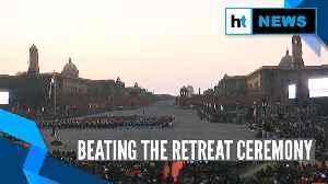 Watch: 'Beating the Retreat' ceremony at Delhi's Vijay Chowk [Video]
