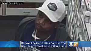 Police Looking For Armed Robber Who Stole Prescription Drugs From North Texas Walgreens [Video]