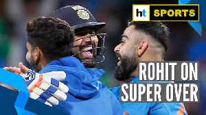India vs New Zealand | Rohit Sharma's super over strategy after scripting win [Video]