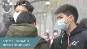 Chinese Coronavirus spreads around world [Video]