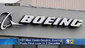 737 Max Costs Double, Boeing Posts First Loss In 2 Decades [Video]