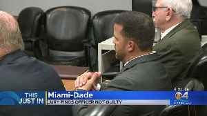 Miami-Dade Officer Accused Of Slapping Handcuffed Teen Found Not Guilty [Video]
