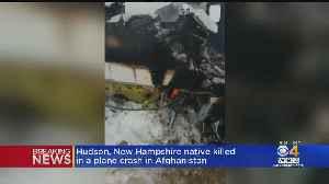 NH Native Killed In Afghanistan Plane Crash [Video]