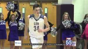 High School Hoops: Homestead girls, Leo boys win at home [Video]