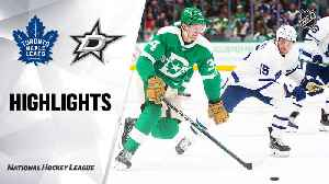 NHL Highlights | Maple Leafs @ Stars 1/29/20 [Video]