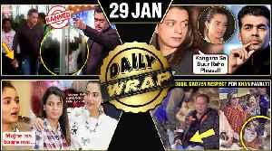 Karan Johar On Kangana, Salman Khan In Trouble, Alia SLAMS Rangoli   Top 10 News [Video]