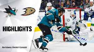 NHL Highlights | Canucks @ Sharks 1/29/20 [Video]