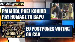 EU Parliament postpones voting on resolution against CAA, India hails it as diplomatic win|Oneindia [Video]