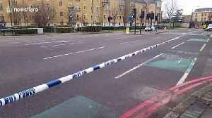 Police cordon off scene of fatal collision between cyclist and car in south London [Video]