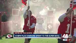 Chiefs Flag Warriors sprint to the Super Bowl [Video]