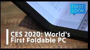 CES 2020: The World's First Foldable PC | Gizmodo [Video]