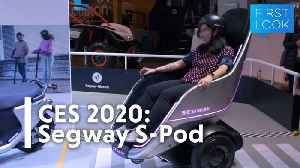 CES 2020: Segway's S-Pod Feels Like Zooming Into the Future | Gizmodo [Video]