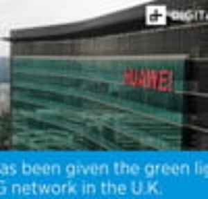 Huawei has been given the green light to build a 5G network in the U.K. [Video]