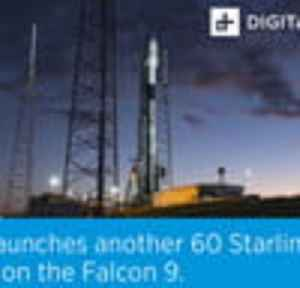 SpaceX launches 60 satellites as part of the Starlink mission [Video]