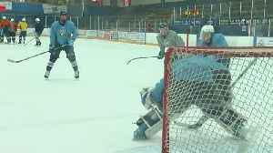 Blaine Bengals Countdown To The HS Boys Hockey Playoffs [Video]