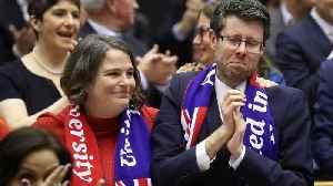 European legislators bid emotional farewell to Britain [Video]