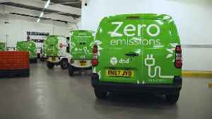 Delivery firm DPD orders 300 electric vans [Video]