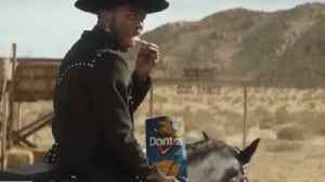 Lil Nas X overjoyed to land Super Bowl commercial with Sam Elliott [Video]