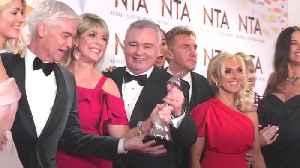 Eamonn Holmes makes NTA trophy gag [Video]