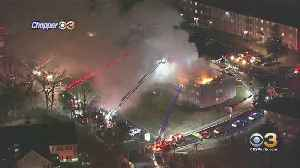 Massive Fire Engulfs King Of Prussia Apartment Building, Injuring More Than A Dozen [Video]