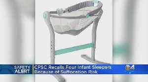 Four Companies Recall Thousands Of Infant Incline Sleepers [Video]