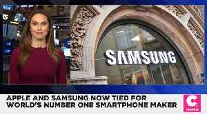 Apple and Samsung Now Tied for World's No.1 Smartphone Seller [Video]