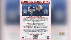 Blood Drive Scheduled To Honor Two Fallen Harford County Officers [Video]