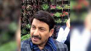 Delhi BJP chief Manoj Tiwari slams Shaheen Bagh protests [Video]