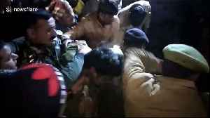Moment police free 23 children held by hostage-taker in India after tense standoff [Video]