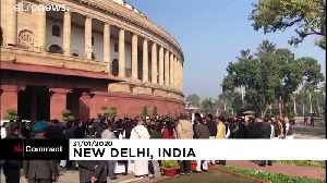Opposition politicians protest over India's controversial citizenship law [Video]