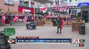 News video: Security firm shares advice to keep Chiefs fans safe on Super Bowl Sunday