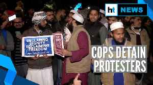 Jamia firing row: Protesters outside Delhi Police headquarters detained [Video]