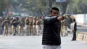 Gunman fires at anti-CAA protest rally in Delhi [Video]