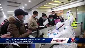 Travel Advisory issued for China [Video]