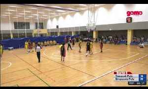 LIVE: IVP Games Men's Basketball 3rd/4th Playoff - Temasek Poly vs Singapore Poly (31 January 2020) [Video]
